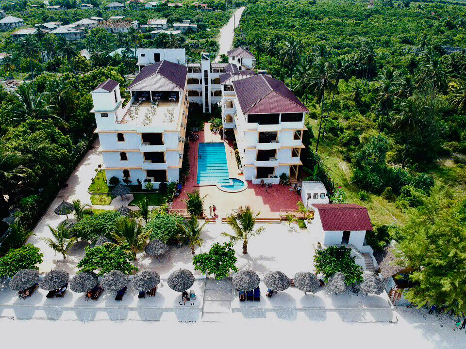 Mandhari Villa Birds Eye View