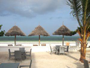Mandhari Villa beach lounger