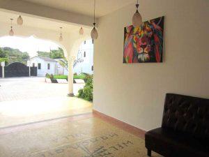 Mandhari Villa reception