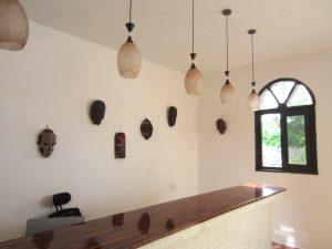 Mandhari Villa receptiondesk